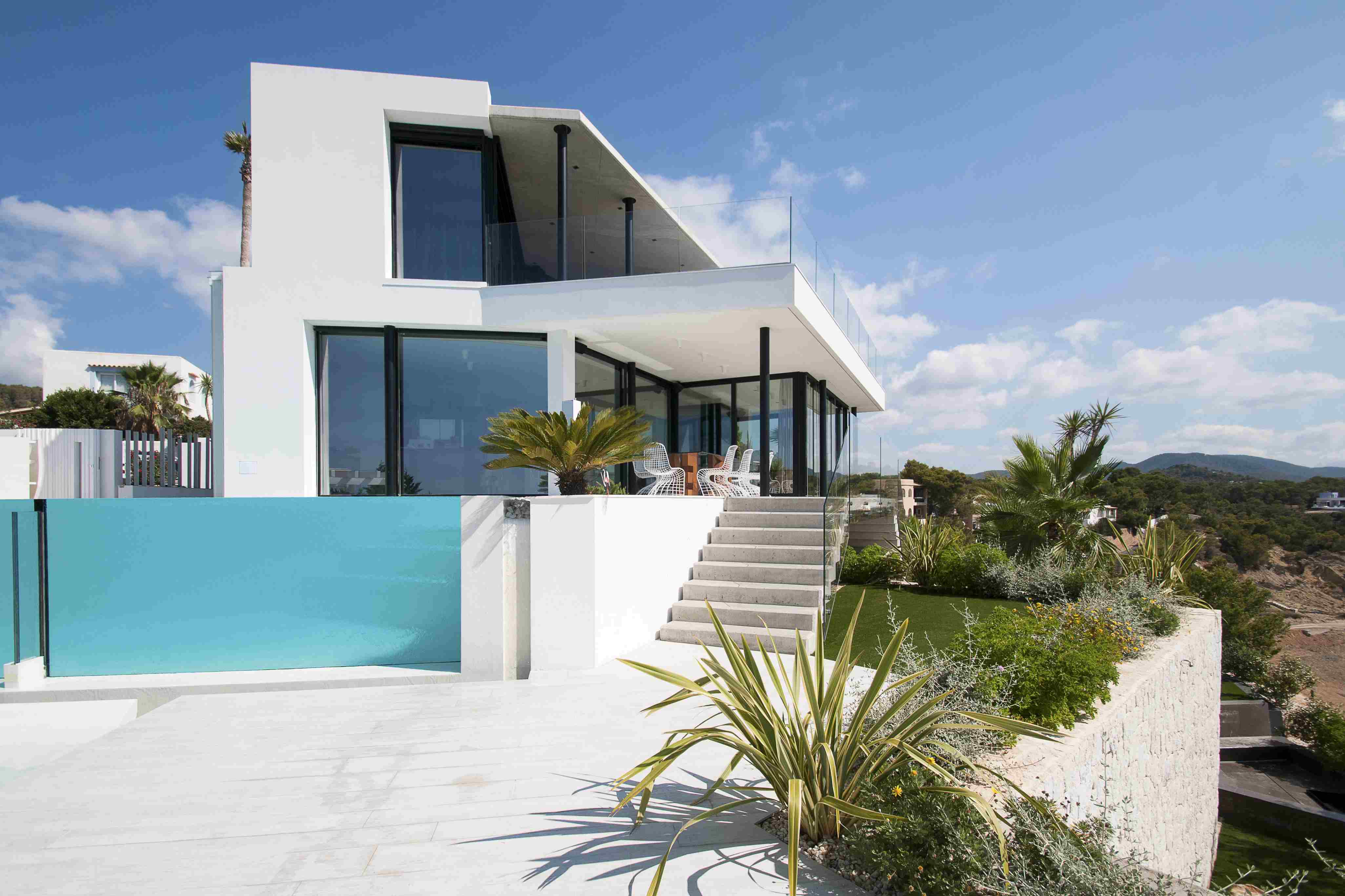 2 Story Small House Plans With Porches furthermore Urban Modern Townhomes Designs in addition Fence Styles And besides thesouthernbasement pany likewise Villas Seaview Ibiza. on town and country pool house design